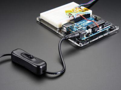 DC Adaptör Uzatma Kablosu (Anahtarlı)