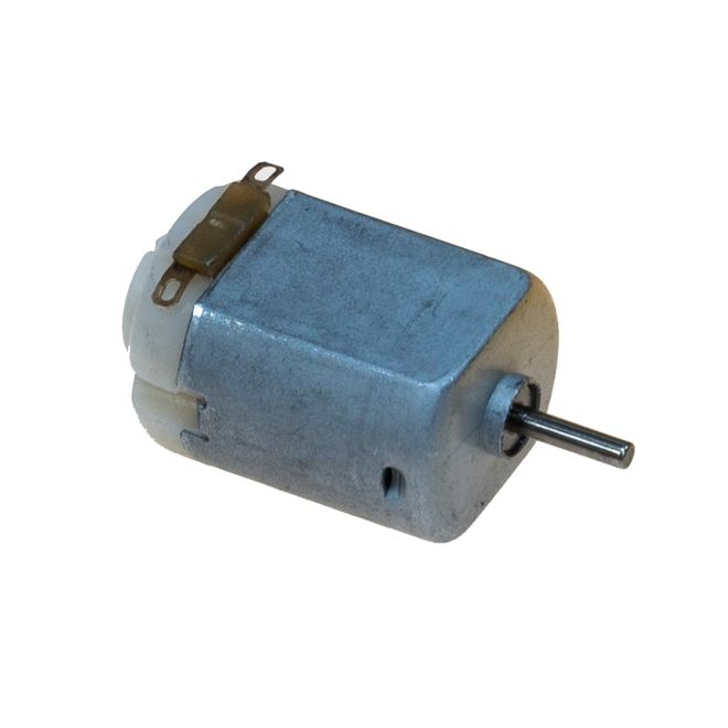 DC motor with fan+LED (NO.2: R260)