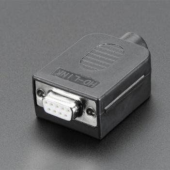 DE-9 (DB-9) Female Socket Connector to Terminal Block Breakout