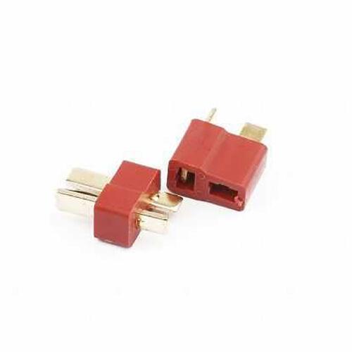 Deans Ultra T Plug - 40-80A Connector (F-M)