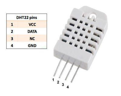 DHT22 Sıcaklık ve Nem Sensörü - AM2302