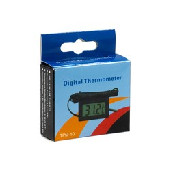 Digital LCD Indoor Thermometer - Thumbnail