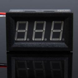 Digital Panel Voltmeter DC 0-100V - Thumbnail