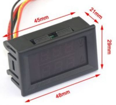 Digital Voltmeter and Ammeter (30V-5A)