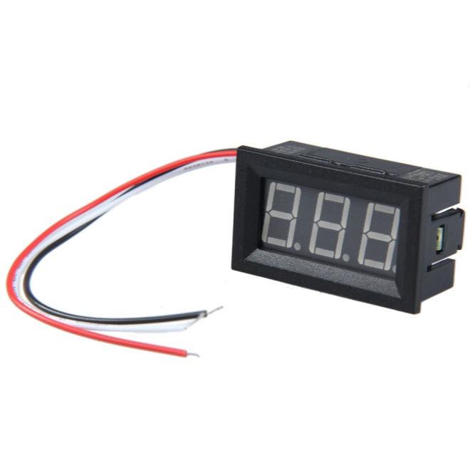 Dijital Panel Voltmetre DC 0-100 V