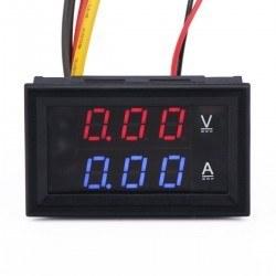 Dijital Voltmetre ve Ampermetre (30 V-5 A) - Thumbnail