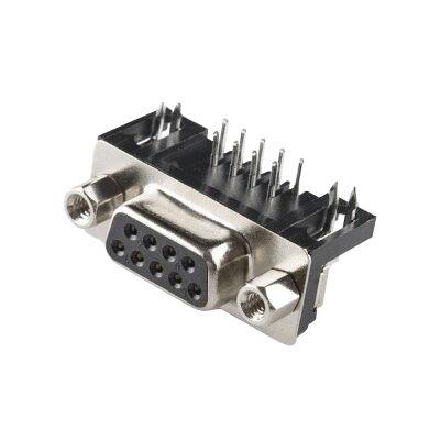 DB9 9 Pin Dişi Seri Port Konnektörü (PCB Tip)