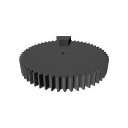 Direksiyon 3D Baskı Parçaları - DIY 900 Derece Dönebilen - Thumbnail