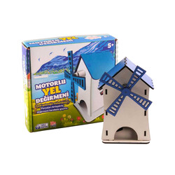 Bilim Parkı - DIY Windmill Set