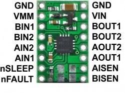 DRV8833 Pair Motor Driver Board - Thumbnail