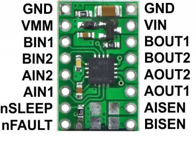 DRV8833 Pair Motor Driver Board