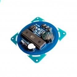DS1302 Dairesel Led Saat - Thumbnail