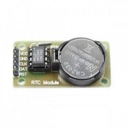 DS1302 Gerçek Zamanlı Saat Devresi Modülü - RTC Modülü - Thumbnail