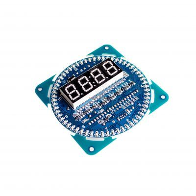 DS1302 Rotating LED Clock