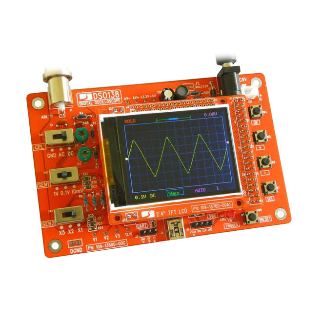 DSO138 DIY Oscilloscope Kit