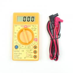 DT-830D Dijital Multimetre - Sarı - Thumbnail