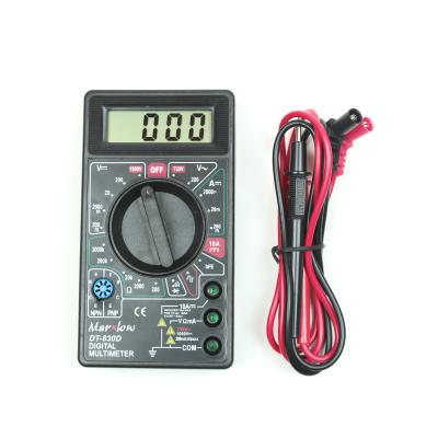 DT-830D Dijital Multimetre - Siyah