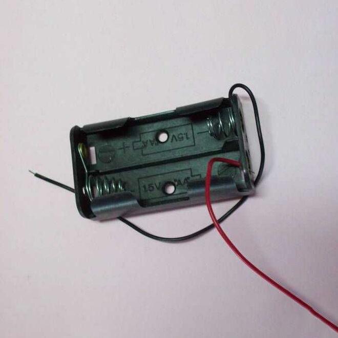 Dual AA Battery Cell (Horizontal)