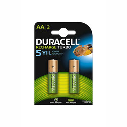 Duracell - Duracell AA Şarj Edilebilir 2500 mAh Pil (2'li)