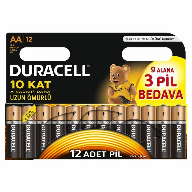 Duracell Basic AA Batteries (12-Pack)