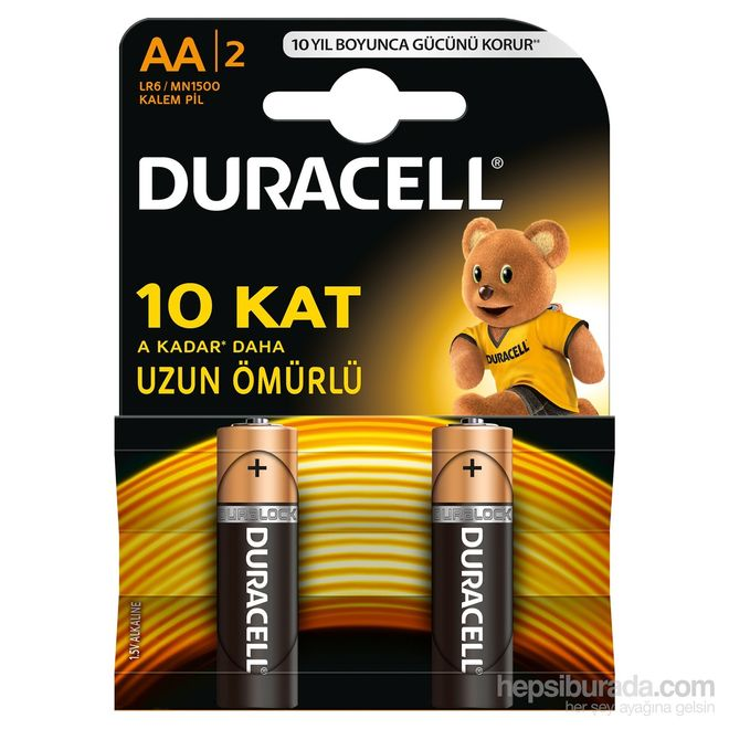 Duracell Basic AA Batteries (2-Pack)