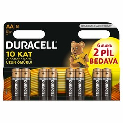Duracell - Duracell Basic AA Batteries (8-Pack)