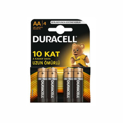 Duracell - Duracell Basic AA Kalem Pil (4'lü)