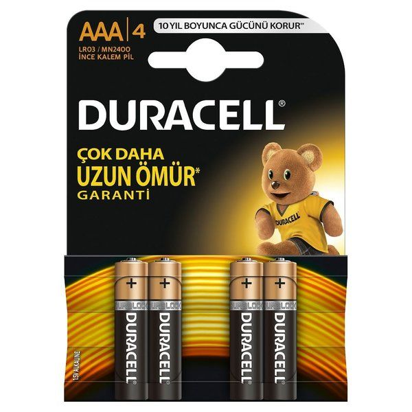 Duracell Basic AAA Batteries (4-Pack)