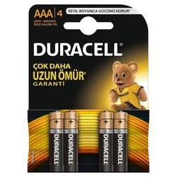 Duracell - Duracell Basic AAA İnce Kalem Pil (4'lü)