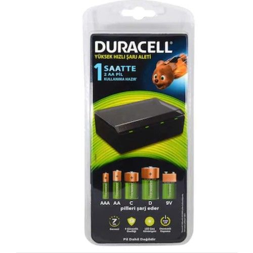 Duracell CEF22 Universal Battery Charger
