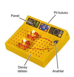 E-1 Science Electrical and Electronic Test Kit - Thumbnail