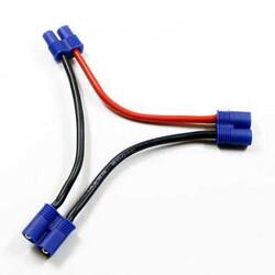 China - EC3 Konnektör 2-Erkek 1-Dişi Seri Bağlantı Kablosu