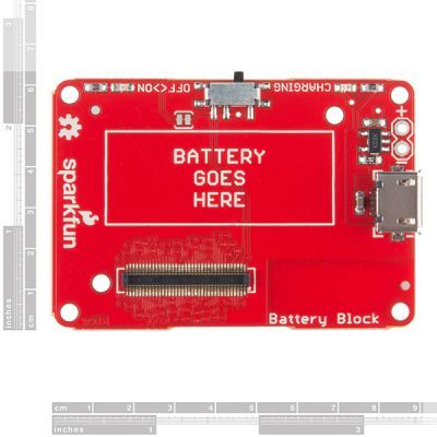 SparkFun Intel® Edison için Blok - Power