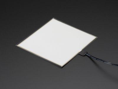 EL Panel - 10 cm x 10 cm - Turkuaz - AF623