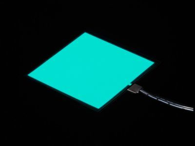 EL Panel Başlangıç Paketi - 10 cm x 10 cm - Turkuaz - AF627