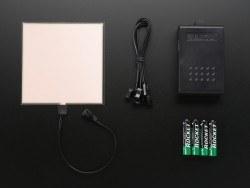 EL Panel Başlangıç Paketi - 10 cm x 10 cm - Beyaz - AF628 - Thumbnail