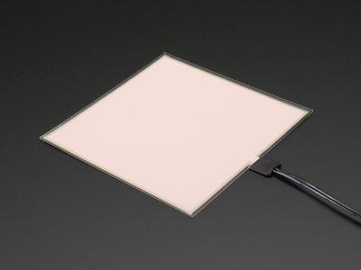 EL Panel Başlangıç Paketi - 10 cm x 10 cm - Beyaz - AF628