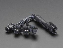 Adafruit - EL Wire 4'lü Çoklayıcı - AF402