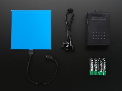 EL Panel Başlangıç Paketi - 10 cm x 10 cm - Mavi - AF629