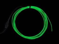 Adafruit - EL Wire Başlangıç Paketi - Yeşil, 2.5 m - AF584