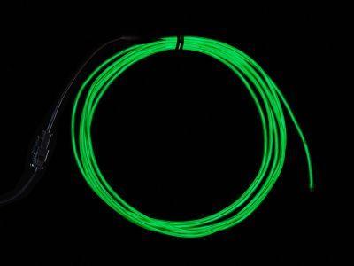EL Wire Başlangıç Paketi - Yeşil, 2.5 m - AF584