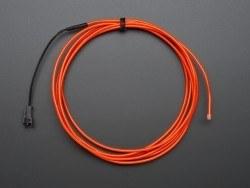 EL wire starter pack - Red 2.5 meter (8.2 ft) - AF587 - Thumbnail