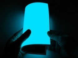 Adafruit - Electroluminescent (EL) Panel - 20cm x 15cm Aqua - AF414