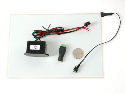 Electroluminescent (EL) Panel - 20cm x 15cm Aqua - AF414