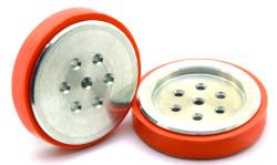 Electron Silicone Wheel (43x11 mm) New Series - 2 Pieces - Thumbnail