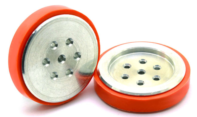 Electron Silicone Wheel (43x11 mm) New Series - 2 Pieces