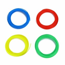 eMate Rainbow Pack for 3D Printing Pen - 6 Colours 5 metres each - Thumbnail