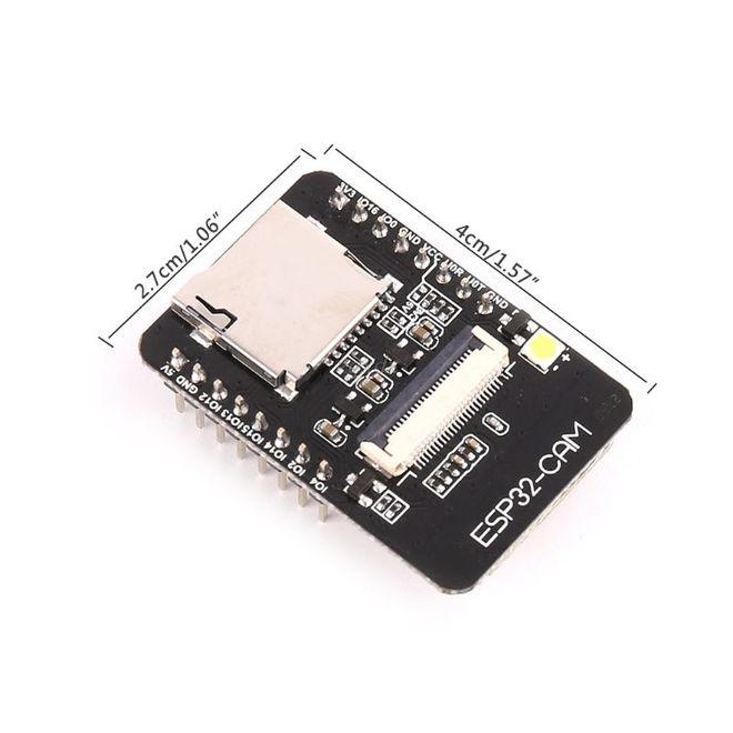 ESP32-CAM WiFi Bluetooth Geliştirme Kartı + OV2640 Kamera Modül