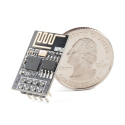 ESP8266 Ekonomik Wifi Serial Transceiver Module - Thumbnail