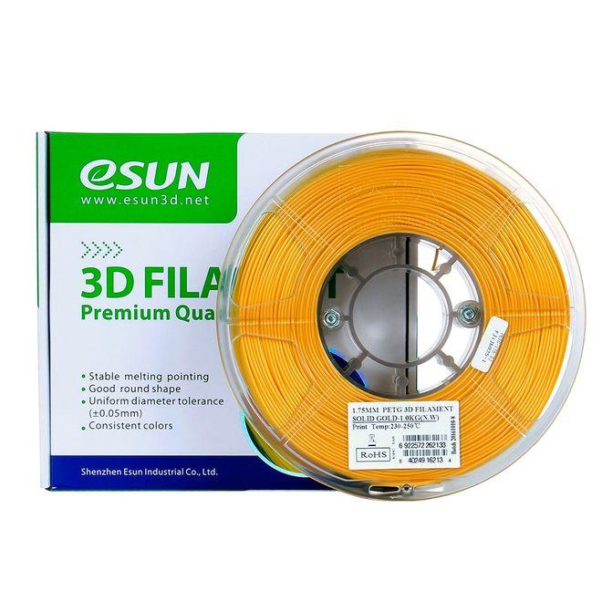 Esun 1.75 mm Altın PETG Filament - Solid Gold
